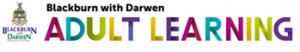 Blackburn with Darwen council adult learning logo
