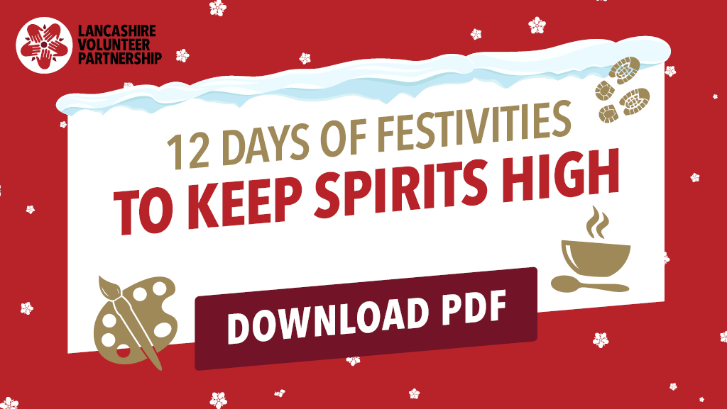12 days of festivities to keep spirits high graphic