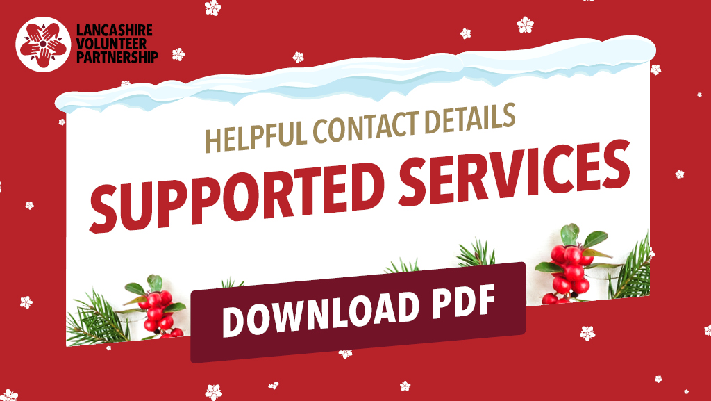 Helpful contact details - Support Services graphic