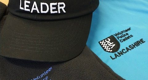 Cadet Leader hat with Cadet polo shirt and fleece