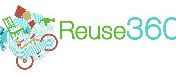 Reuse 360 recycling logo
